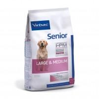 Croquettes pour chien - VIRBAC VETERINARY HPM Physiologique Senior Medium & Large Senior Medium & Large