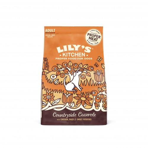Alimentation pour chien - Lily's Kitchen Adulte Sans Céréales - Poulet et Canard pour chiens