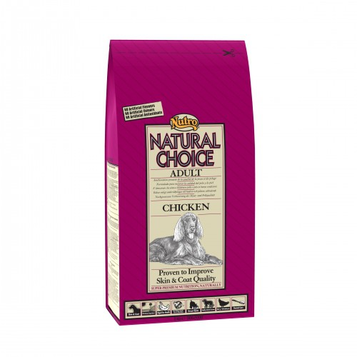 Croquettes pour chiens - NUTRO Natural Choice Adulte - Poulet