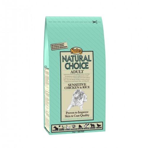 Croquettes pour chiens - NUTRO Natural Choice Adulte - Digestion sensible - Poulet et Riz
