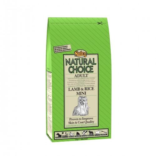 Croquettes pour chiens - NUTRO Natural Choice Adulte pour petits chiens - Agneau et Riz