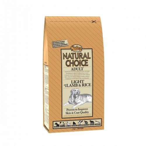 Croquettes pour chiens - NUTRO Natural Choice Adulte Allégé - Agneau et Riz