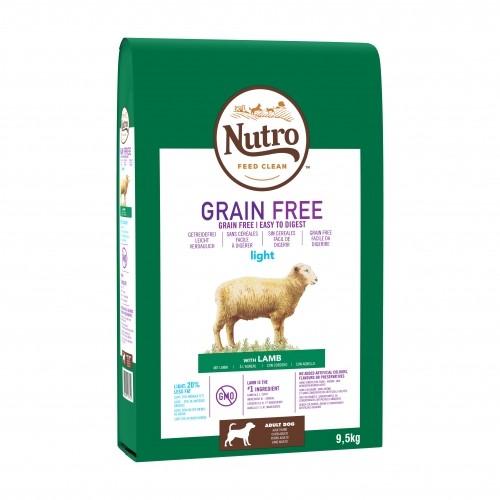 Alimentation pour chien - Nutro  Sans céréales Adulte Light pour chiens