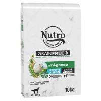 Croquettes pour chiens - Nutro Grain Free Allégées moyen chien adulte à l'agneau Nutro