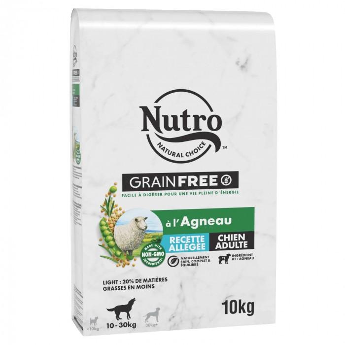 Alimentation pour chien - Nutro Grain Free Allégées moyen chien adulte à l'agneau pour chiens