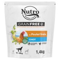 Croquettes pour chiot - Nutro Grain Free moyen chiot au poulet frais Nutro