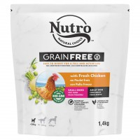 Croquettes pour chien - Nutro Grain Free Small Adult Nutro