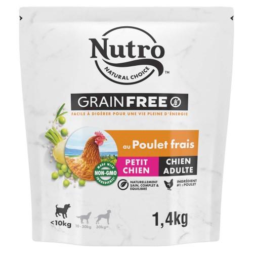 Alimentation pour chien - Nutro Grain Free petit chien adulte au poulet frais pour chiens