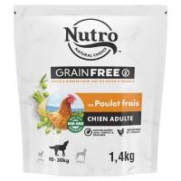 Croquettes pour chien - Nutro Grain Free moyen chien adulte au poulet frais Nutro