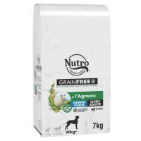Croquettes pour chien - Nutro Grain Free grand chien adulte à l'agneau Nutro