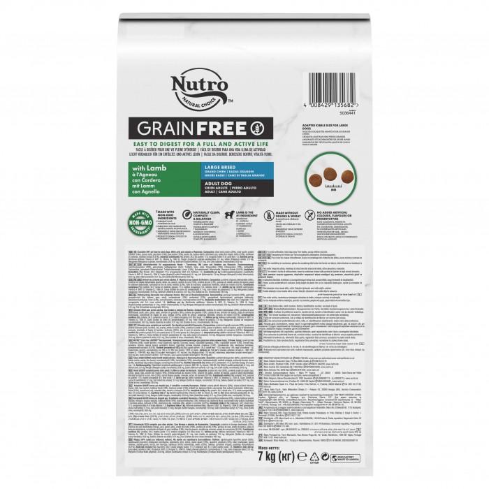 Alimentation pour chien - Nutro Grain Free grand chien adulte à l'agneau pour chiens