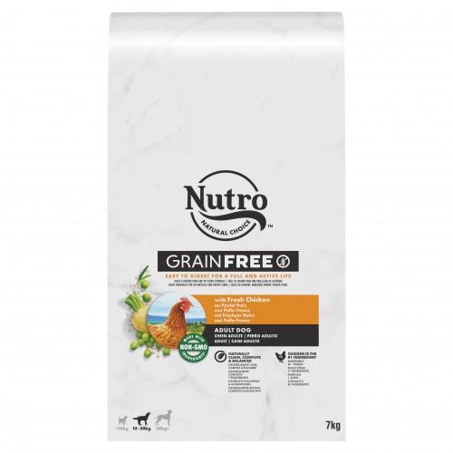 Alimentation pour chien - Nutro Grain Free moyen chien adulte au poulet frais pour chiens