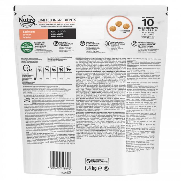 Alimentation pour chien - Nutro Limited Ingredients moyen chien adulte au saumon pour chiens