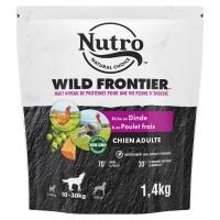 Croquettes pour chien - Nutro Wild Frontier moyen chien adulte à la dinde et au poulet frais Nutro