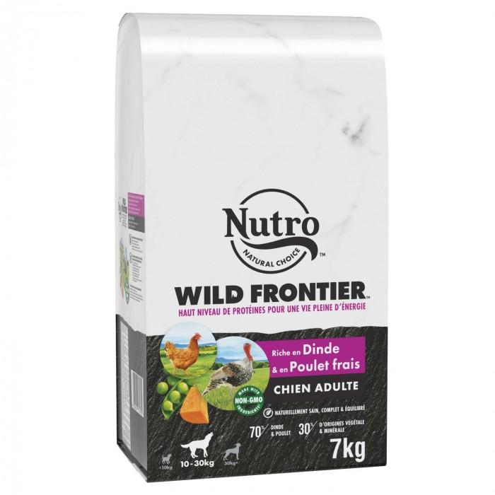 Alimentation pour chien - Nutro Wild Frontier moyen chien adulte à la dinde et au poulet frais pour chiens