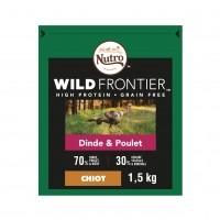Croquettes pour chiot - Nutro Wild Frontier Junior <1
