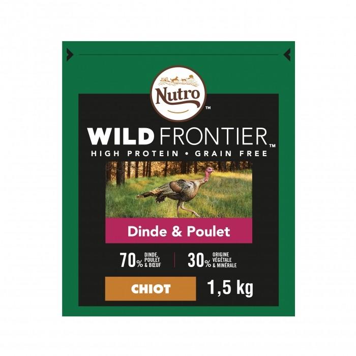 Alimentation pour chien - Nutro Wild Frontier Junior <1 pour chiens