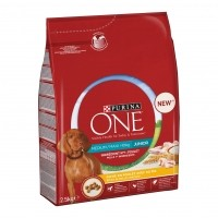 Croquettes pour chiot - PURINA ONE Medium / Maxi > 10kg Junior