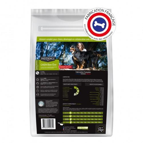 Alimentation pour chien - PRÉFÉRENCE NUTRITION Chien Bien-être pour chiens