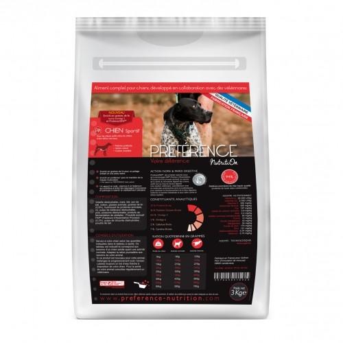 Alimentation pour chien - PRÉFÉRENCE NUTRITION pour chiens