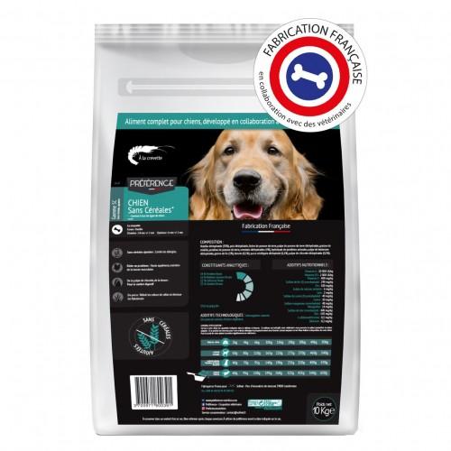 Alimentation pour chien - PRÉFÉRENCE Chien - Sans Céréales pour chiens