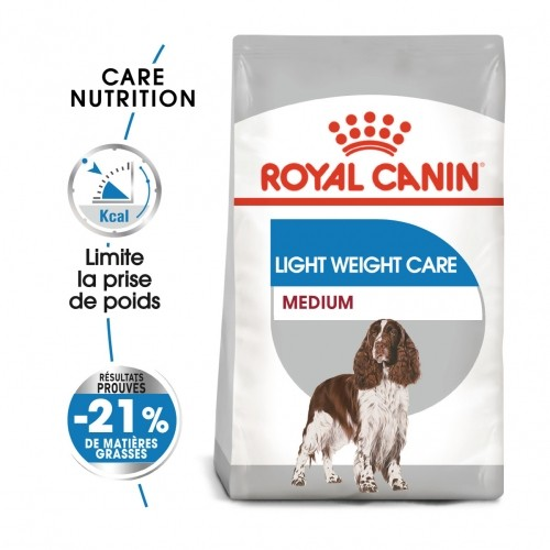 Alimentation pour chien - Royal Canin Medium Light Weight Care pour chiens