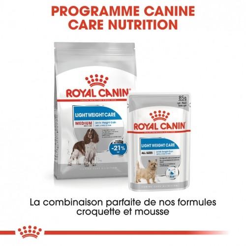 Alimentation pour chien - Royal Canin Medium Light Weight Care - Croquettes pour chien pour chiens