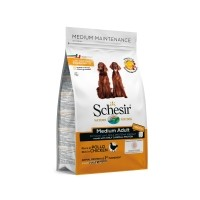 Croquettes pour chien - Schesir Medium Adult Maintenance