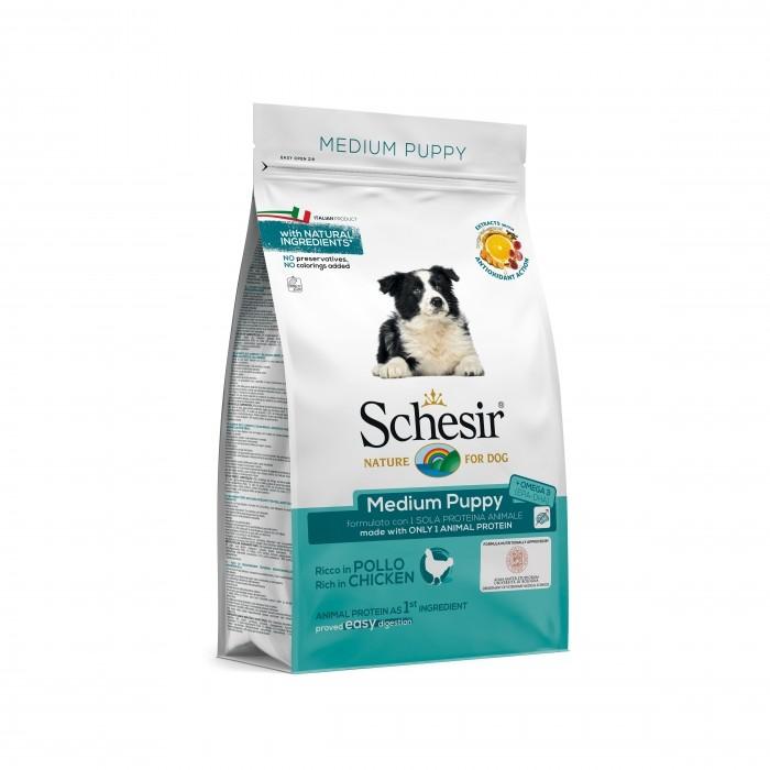 Schesir Medium Puppy-Medium Puppy