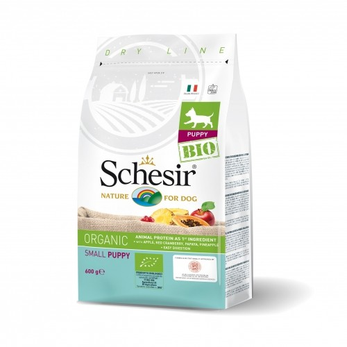 Croquettes pour chiot - Schesir BIO Small Puppy