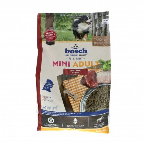 bosch croquettes pour chien mini adult agneau riz wanimo. Black Bedroom Furniture Sets. Home Design Ideas