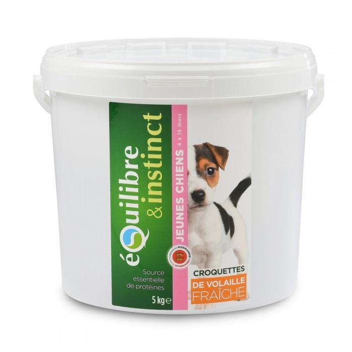 Alimentation pour chien - EQUILIBRE & INSTINCT Puppy pour chiens