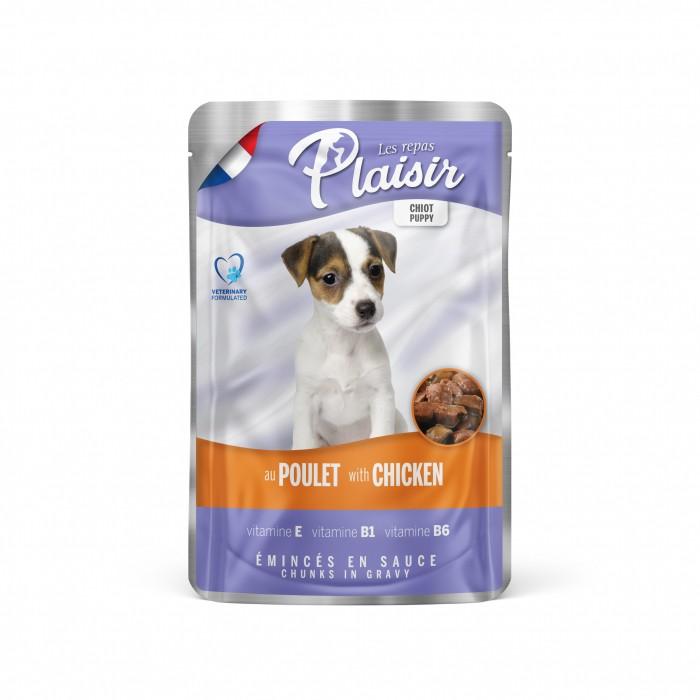 Alimentation pour chien - REPAS PLAISIR Junior - Emincés en sauce pour chiens