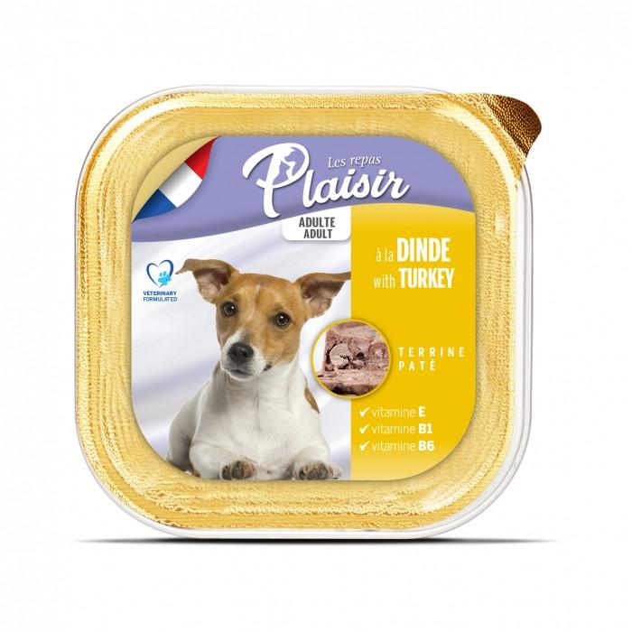 Sélection Made in France - REPAS PLAISIR Adulte - Terrine pour chiens