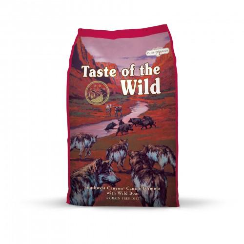Alimentation pour chien - TASTE OF THE WILD pour chiens