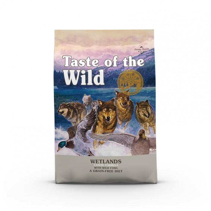 Alimentation pour chien - Taste Of The Wild Wetlands Wild pour chiens