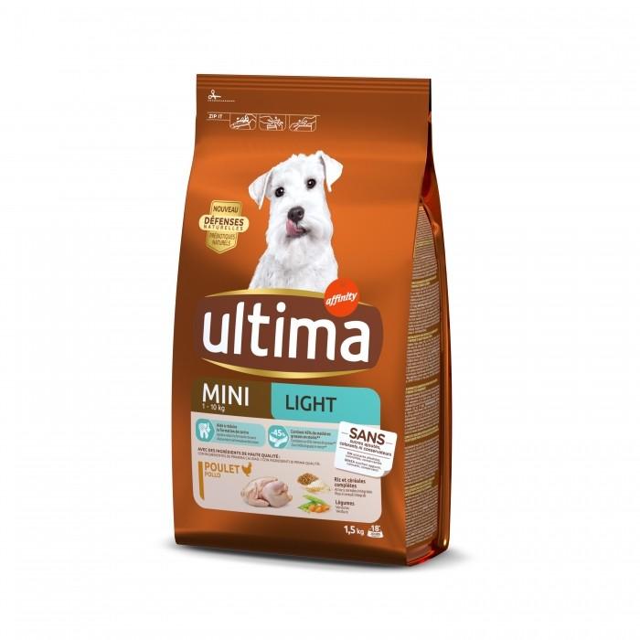 Alimentation pour chien - Ultima Mini Light pour chiens
