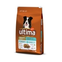 Croquettes pour chien - Ultima Medium Maxi Light
