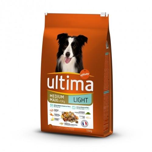 Alimentation pour chien - Ultima Medium Maxi Light pour chiens