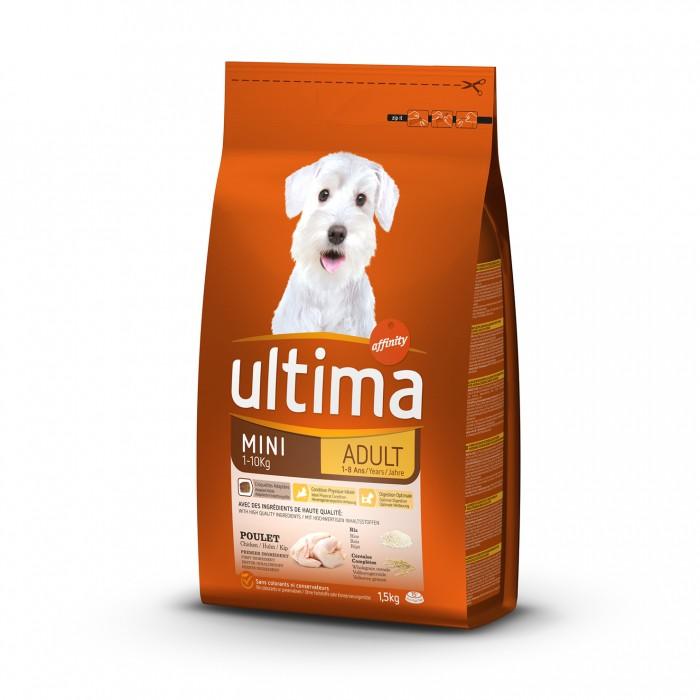 Alimentation pour chien - Ultima Mini Adult pour chiens