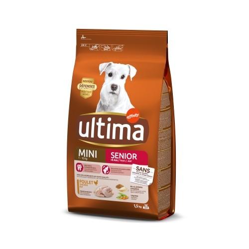 Ultima Mini Senior : Croquettes pour chien - Wanimo