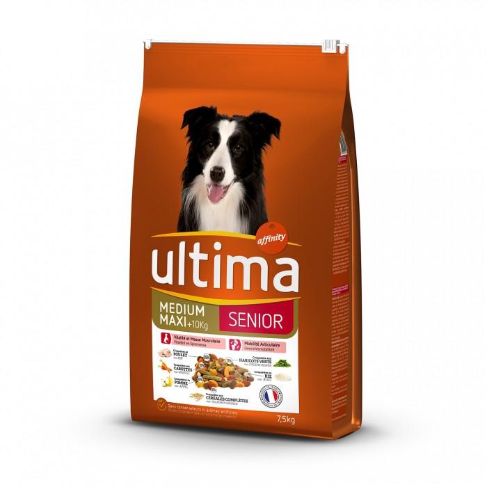 Alimentation pour chien - Ultima Medium Maxi Senior pour chiens