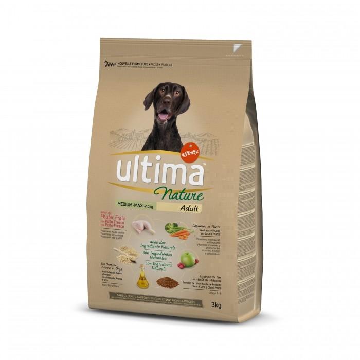 Alimentation pour chien - Ultima nature Medium Maxi Adult pour chiens