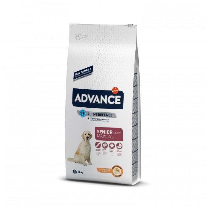 Alimentation pour chien - ADVANCE Maxi Senior +6 pour chiens