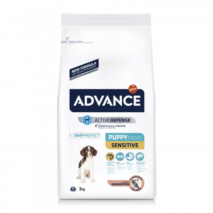 Alimentation pour chien - ADVANCE Puppy Sensitive pour chiens