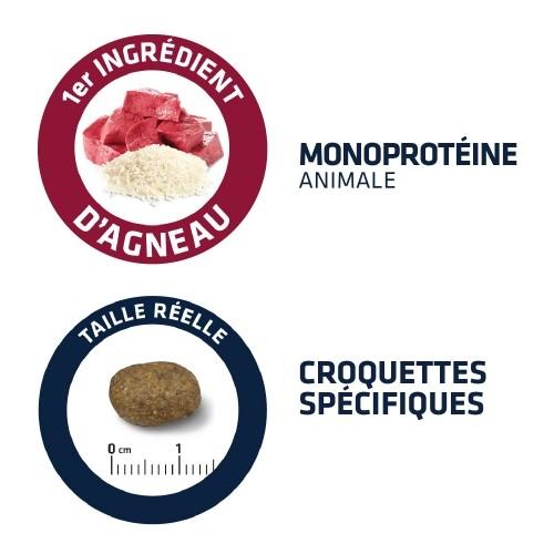 Alimentation pour chien - ADVANCE Agneau et Riz - Sensibilité cutanée pour chiens