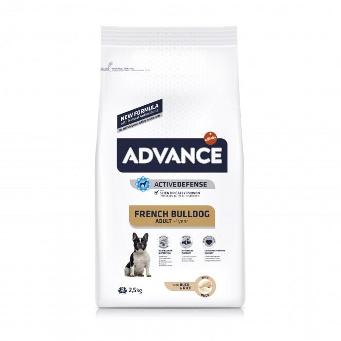 Alimentation pour chien - ADVANCE Bouledogue Français pour chiens