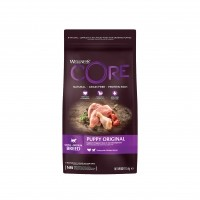 Croquettes pour chiot - Wellness CORE Puppy Small/Medium Breed - Dinde et Poulet  Puppy - Dinde et Poulet