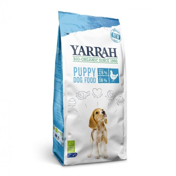 Alimentation pour chien - Yarrah Croquettes biologiques pour chiot pour chiens