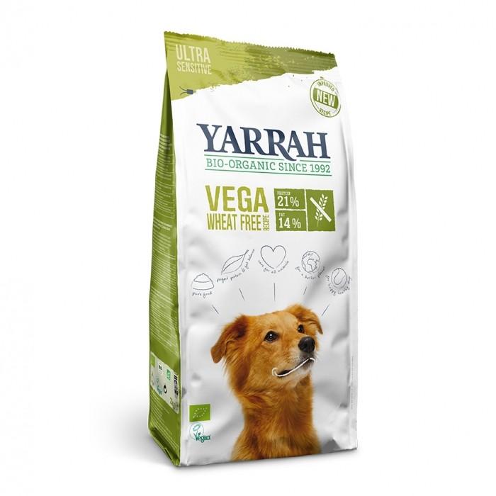 Alimentation pour chien - Yarrah Croquettes biologiques vegan sans blé pour chiens
